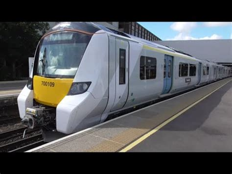 thameslink to gatwick thameslink class 319 ride st albans to london blackfri