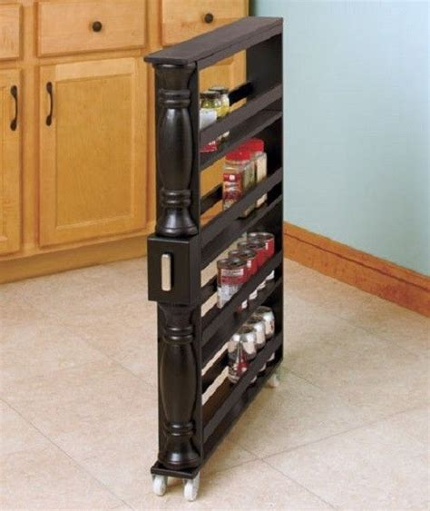 kitchen cabinet pull out spice rack pull out spice rack drawer kitchen storage organizer 4