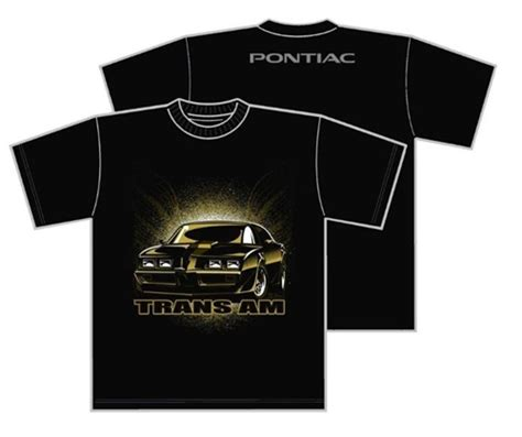 pontiac firebird t shirt pontiac firebird trans am t shirt with pontiac logo on