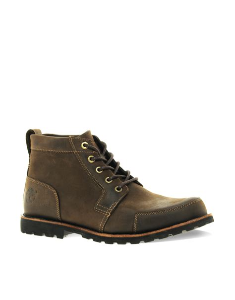 rugged boots timberland earthkeeper rugged chukka boots in brown for lyst
