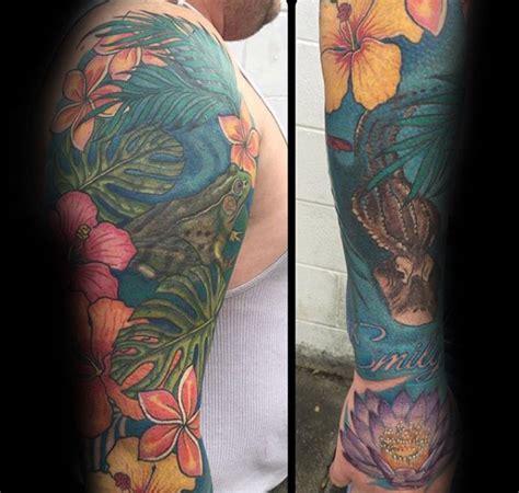 hawaiian flower tattoos for men 80 hibiscus designs for flower ink ideas