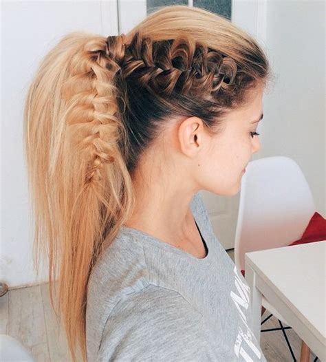 hairstyles for shoulder length hair pony tails 22 cute ponytails for long medium length hair straight