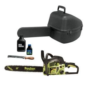 poulan 18 in 40 cc gas chainsaw value pack 952802151