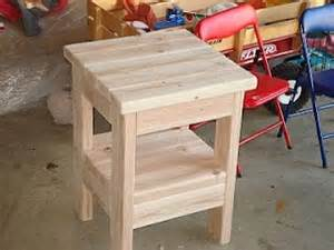 Dining Table Frame Kit 2x4 End Table Diy End Tables The Picture