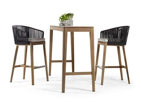 teak gartenmöbel kanada mood hochtisch by trib 217 design studio segers