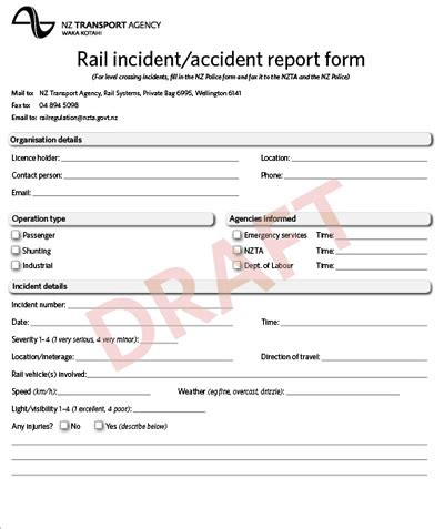 safety incident report template excel yahoomaster