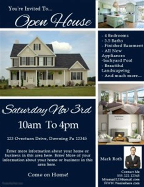 1 560 Customizable Design Templates For Open House Postermywall Open House Flyer Template