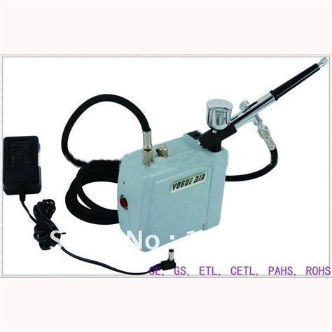 Mini Compressor Airbrush Set portable make up airbrush system with green mini air compressor air brush support automatically
