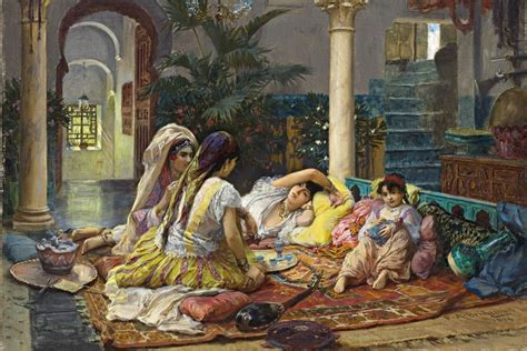 the ottoman harem by osman hamdi bey was an ottoman administrator