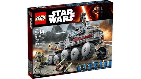Lego 75151 Wars Clone Turbo Tank Starwars Original Mainan 75151 clone turbo tank lego 174 wars products wars lego