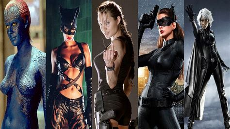 female hot all the time top 10 hottest female superheroes in hollywood of all time