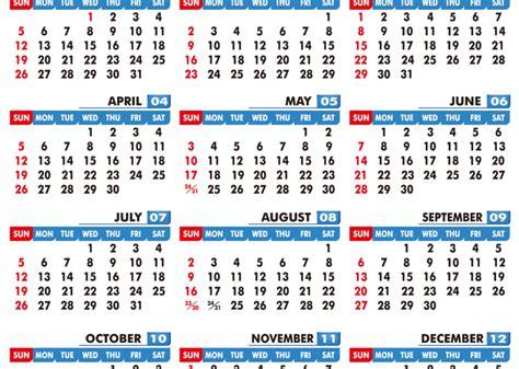 printable  calendar template   business module hub