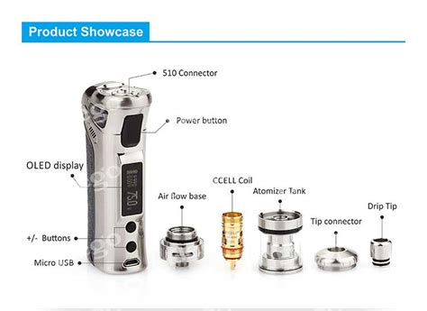 E156 Vaporesso Target Pro Replacement Glass 75w Tank Vape Kaca Pe vaporesso target pro 75w tc kit