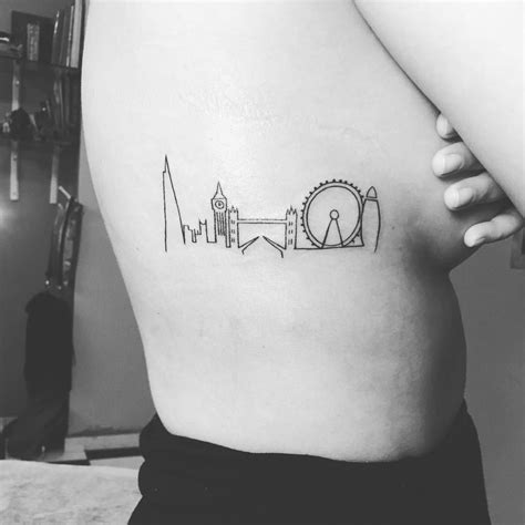 london skyline tattoo skyline www pixshark images
