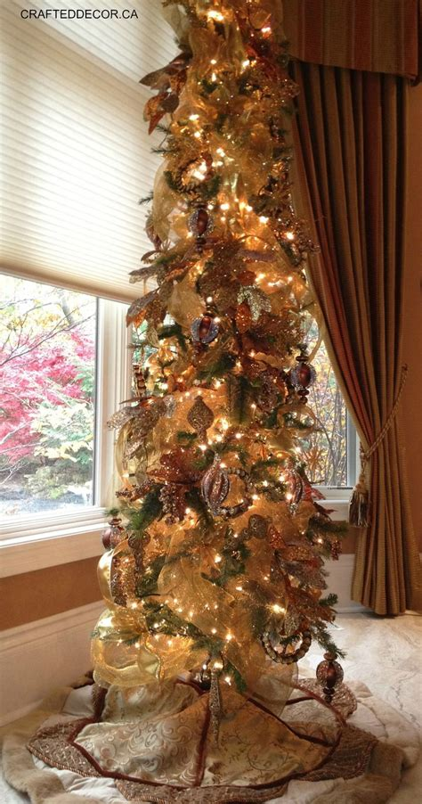 show me thin decorated trees 25 best ideas about pencil tree on door swag tutorial deco mesh