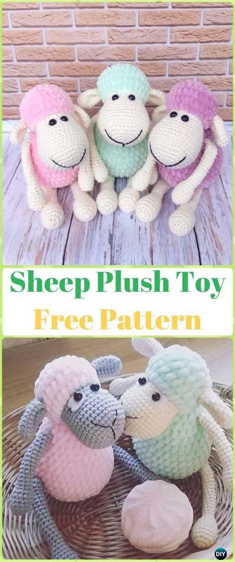 amigurumi lamb pattern free amigurumi crochet sheep toy softies free patterns