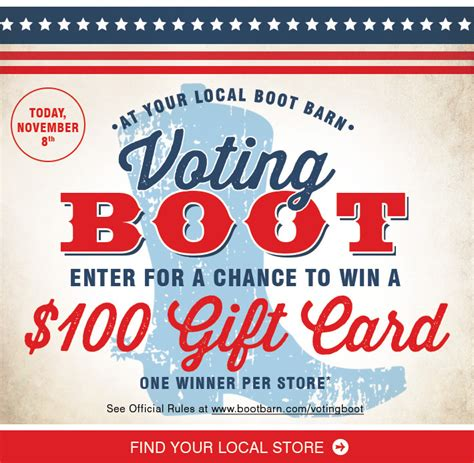 Discount For Voters Rock The Vote And Save Second City Style Fashion by Exceptional Boot Barn Coupons For You Election Day Save