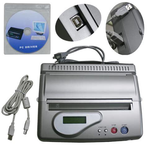 cheap tattoo stencil printer dhl free ship lcd display usb tattoo transfer machine