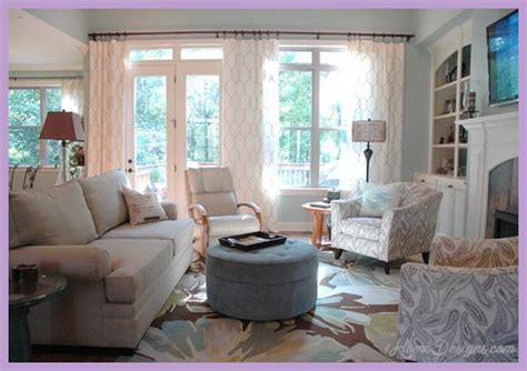 casual curtains for living room