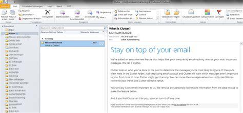 Office 365 Outlook Linux Clutter Onbelangrijke Mail Map Uitschakelen In Office