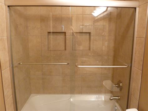 shower with recessed shelves shower with recessed