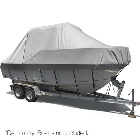 boat cover prices kogan polyester boat cover 17ft 19ft compare club