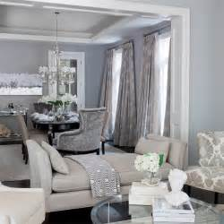 Gray Room Decor Gray And Blue Living Room Contemporary Dining Room