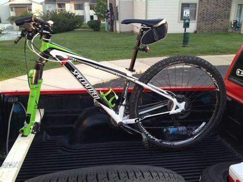truck bed bike mount best 25 truck bed bike rack ideas on pinterest pvc bike racks bike racks for