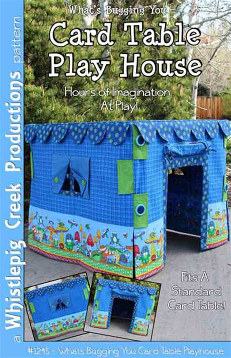 card table playhouse card table play house sewing pattern