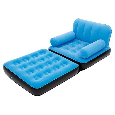 Inflatable Sofa Couch Full Single Air Bed Daybed Air Mattress Sofa Sleeper