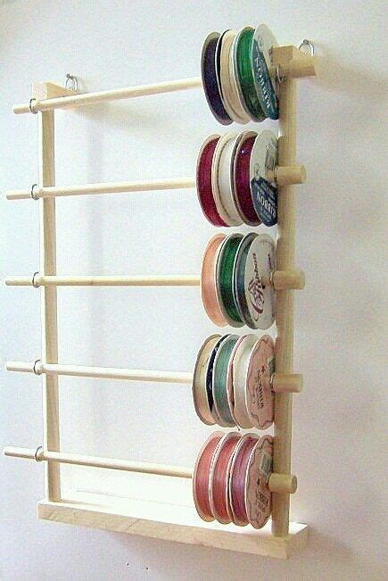 7 Ribbon Rack by Ribbon Holder Craft Room Where The Magic Happens