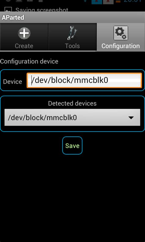 how to make sd card partition aparted partition sd card from android basedroid