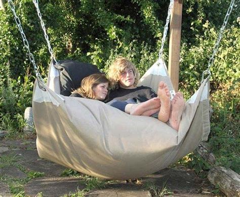 bean bag swing you need to do these 32 awesome summer ideas