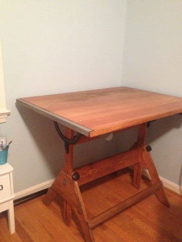 Anco Bilt Drafting Table As A Thrifter Repurposed Redone Thrift Diving