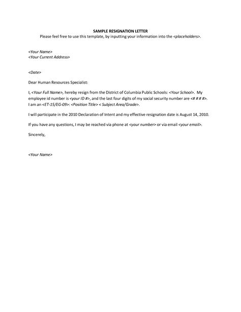 Appreciative Resignation Letter by Resignation Letter Appreciative Resignation Letter Template Thank You Resignation Letter