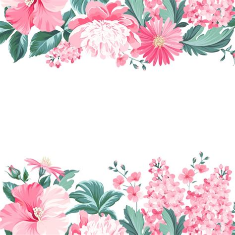 background design with flowers floral background design vector premium download