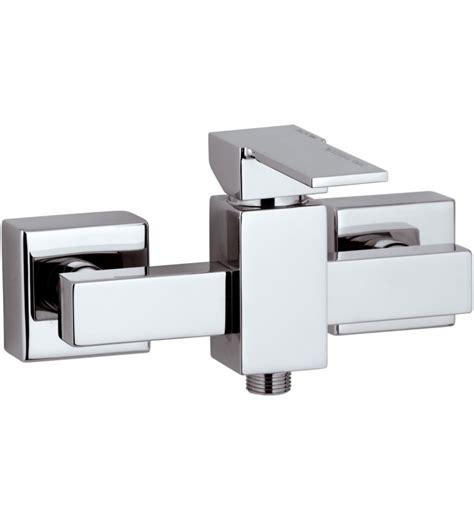 rubinetto per doccia miscelatore monocomando esterno per doccia serie qubika