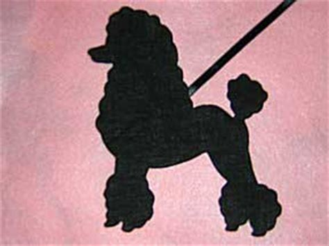 poodle skirt applique template free patterns for poodle applique appliq patterns