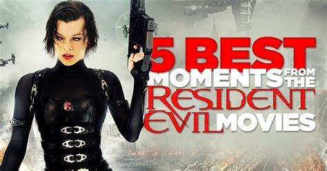 film animasi resident evil top five standout scenes from the resident evil films