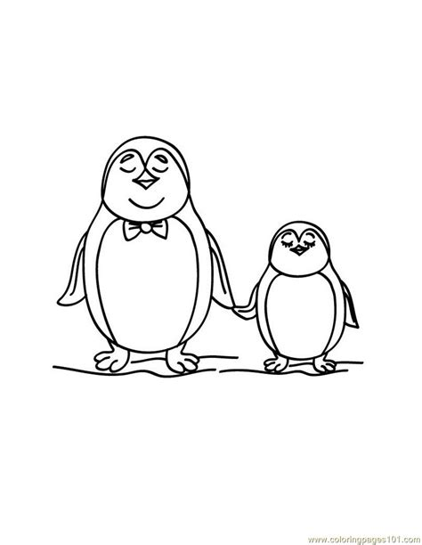 penguin coloring pages pdf penguin coloring page free penguin coloring pages