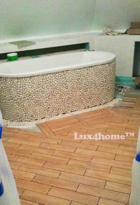 white pebble tiles bathroom white pebble tiles mosaisc we produce pebble mosaics