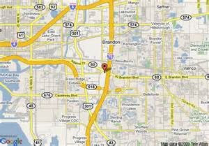 map of brandon florida map of embassy suites ta brandon ta