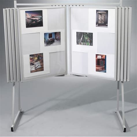 swinging panel display swinging floor display panels
