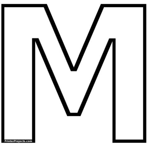 letra m para imagui letras para imprimir de 15 cm imagui