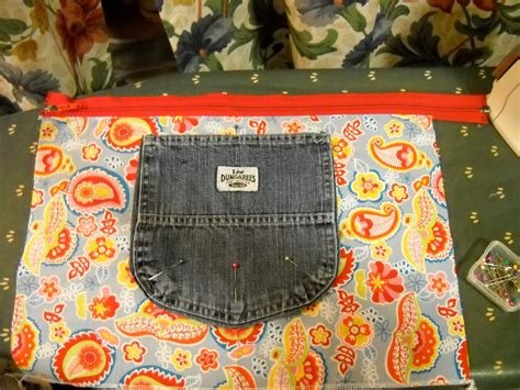 Backpack Denim Forest blue jean backpack tutorial a tiny forest