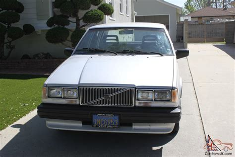 1985 volvo 740 gle 1985 volvo 740 gle sedan 4 door 2 3l