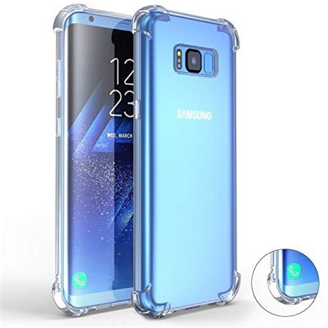 Samsung S8 Ultra Thin Tpu Casing Cover Bumper Armor Silikon Bagus galaxy s8 plus comsoon drop cushion clear soft pc tpu bumper slim protective