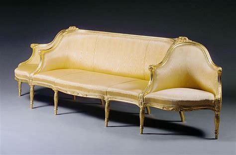 confidante sofa a george iii giltwood confidante sofa circa 1780