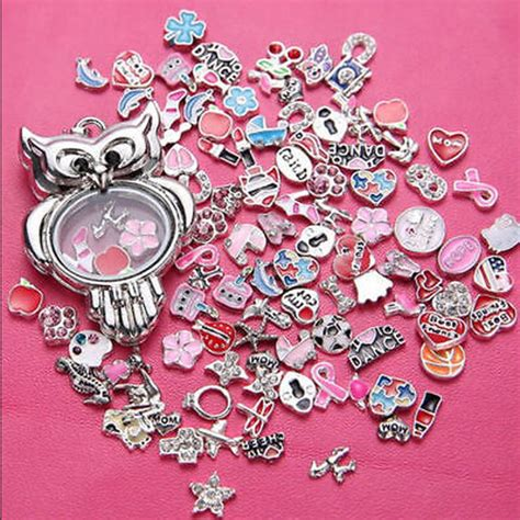 Wholesale Origami Owl Lockets - gift snap it chunk design floating charms locket for