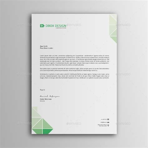 10 Sle Personal Letterhead Templates To Download Sle Templates Personal Templates